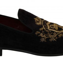 Dolce & Gabbana Brown Suede Leather Stiletto Shoes Heels