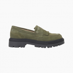 Spike Loafer – Army Suede – Garment Project – Army 37